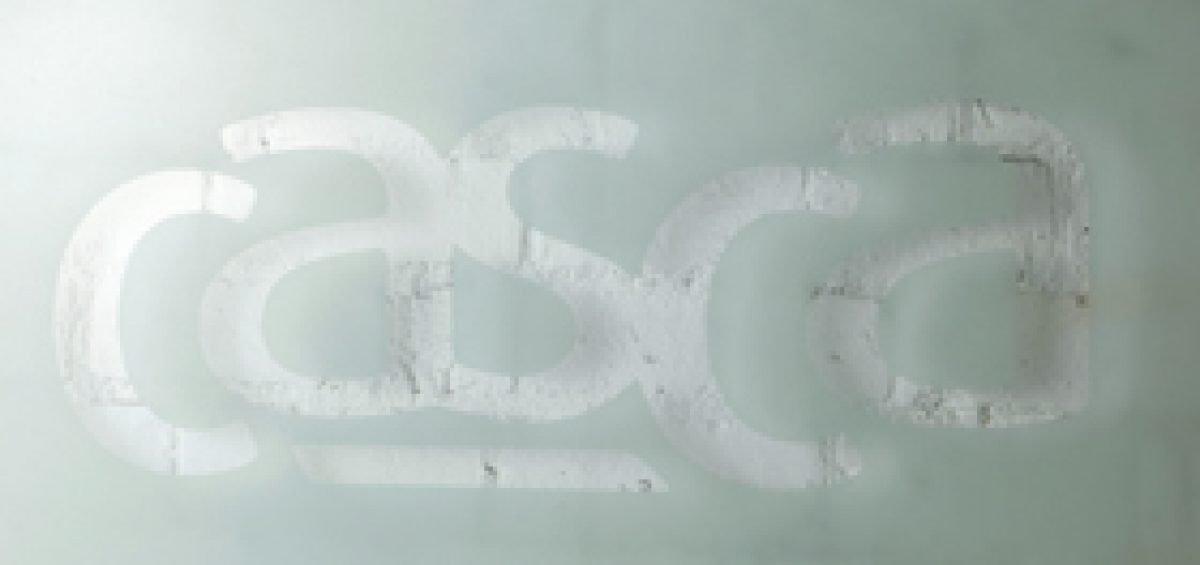 casca logo on personalised board
